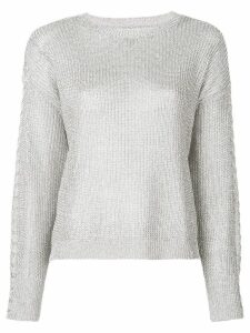 RtA knitted sweater - SILVER