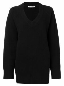 T By Alexander Wang V-neck jumper - Black