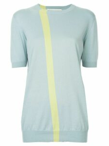 Marni fine knit striped stop - Blue