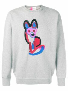 Maison Kitsuné Acide fox sweatshirt - Grey