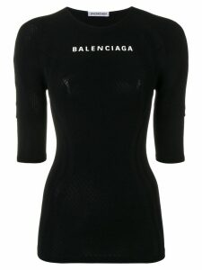 Balenciaga athletic top - Black