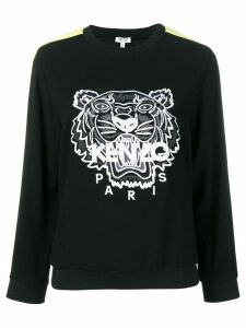Kenzo Tiger panelled sweatshirt - Black