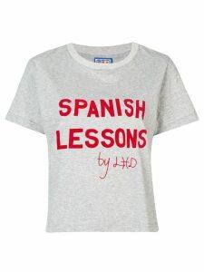 Lhd slogan print T-shirt - Grey