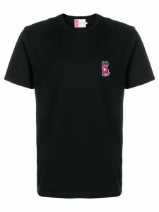 Maison Kitsuné Acide fox patch T-shirt - Black