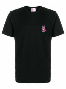 Maison Kitsuné Acide fox patch T-shirt - Black