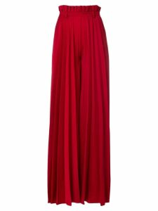 Atu Body Couture pleated palazzo pants - Red