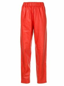 Tibi pull on trousers - Red