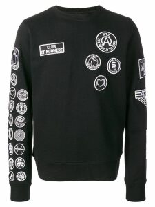 KTZ scout patches sweatshirt - Black
