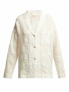 Mara Hoffman - Eleanor Cotton-blend Shirt - Womens - White