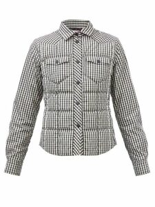 La DoubleJ - Bouncy Columbo-print Cotton Midi Dress - Womens - Navy Print