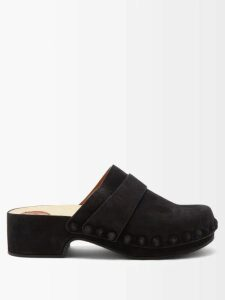 Loup Charmant - Ruffle-trim Cotton Midi Skirt - Womens - Light Yellow