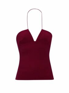 Erdem - Lucien Floral-print Silk-satin Blouse - Womens - White Multi