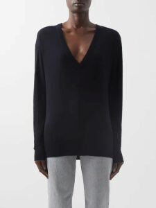 Chloé - Ruffled Cut Out Shoulder Silk Blouse - Womens - Ivory