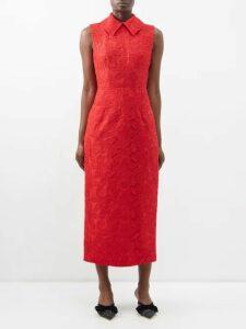 Galvan - Daniela Sequined Halterneck Gown - Womens - Black