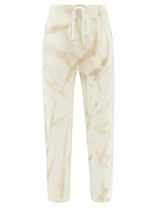 Allude - Colour Block Cashmere Sweater - Womens - Blue Multi