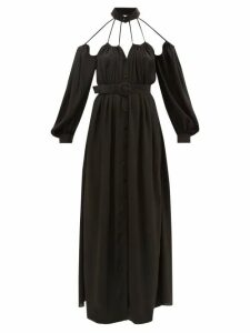 Hillier Bartley - Oversized Gathered Cashmere Sweater - Womens - Green