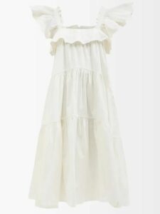 Acne Studios - Mock Leather Biker Jacket - Womens - Black