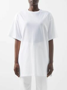 The Elder Statesman - Round Neck Cashmere Sweater - Womens - Pink