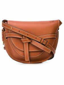 Loewe saddle shoulder bag - Brown