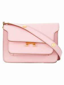 Marni Trunk shoulder bag small - Pink