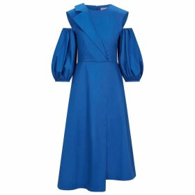 Nissa - Loose Top With Ecological Leather Details