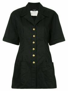 Chanel Pre-Owned short sleeve jacket - Black