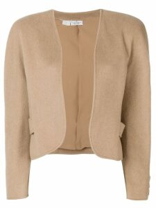 Valentino Pre-Owned 1980's open short jacket - Neutrals