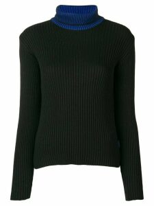 Versace Pre-Owned 1990's turtle neck jumper - Black