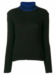 Versace Pre-Owned 1990's turtle neck jumper - Black