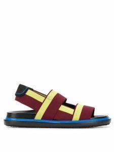 Marni Fussbett sandals - Purple