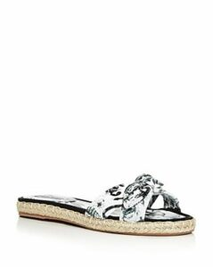 Tabitha Simmons Women's Heli Knotted Slide Sandals