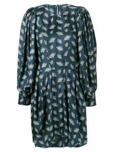 Isabel Marant wheat fan print dress - Blue