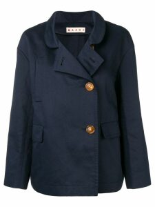 Marni double breasted jacket - Blue