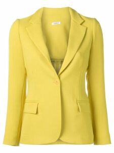 P.A.R.O.S.H. Poloxy fitted blazer - Yellow