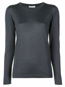 Brunello Cucinelli silk and cashmere blouse - Blue