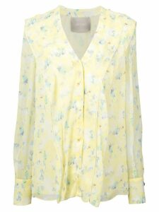 Jason Wu Collection floral blouse - Yellow