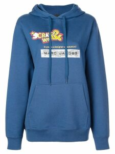 Marc Jacobs Scratch & Win hoodie - Blue