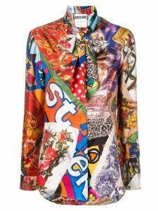 Moschino printed silk shirt - Multicolour