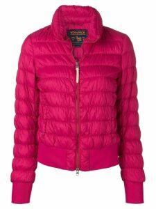 Woolrich slim-fit padded jacket - PINK