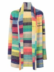The Elder Statesman cashmere colourblock cardigan - Multicolour