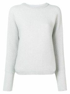 Kenzo ribbed logo jumper - Grey