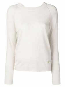Tory Burch slim fit jumper - Neutrals