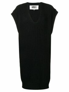 Mm6 Maison Margiela V-neck sweater - Black