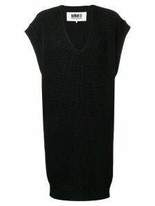 Mm6 Maison Margiela V-neck sweater - Black
