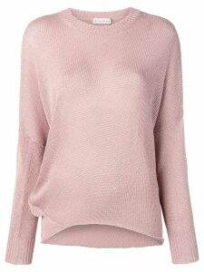 Etro dropped shoulder sweater - Pink