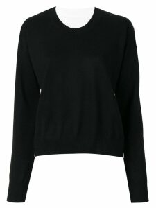 Mm6 Maison Margiela reversible sweater - Black