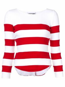 Moschino striped sweatshirt - White
