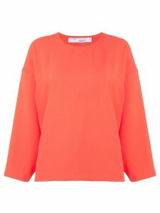 IRO Lithe long sleeve top - ORANGE