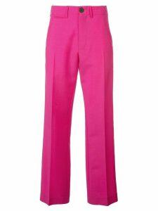 Loewe straight leg trousers - PINK