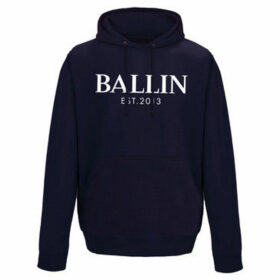 Ballin Est. 2013  Pocket Hoodie  women's Sweater in Blue
